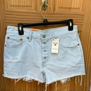 Levi's 501 Button fly Shorts